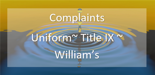 Image of the Complaints logo